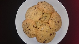 Cookies aux pépites de chocolat recette facile :