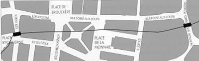 3. 5. L'enceinte de Bruxelles du 13ème siècle