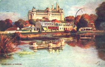 Le château médiéval de Pierrefonds
