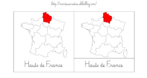 """Nomenclatures : Les """"nouvelles"""" régions (métropole + Corse)"""