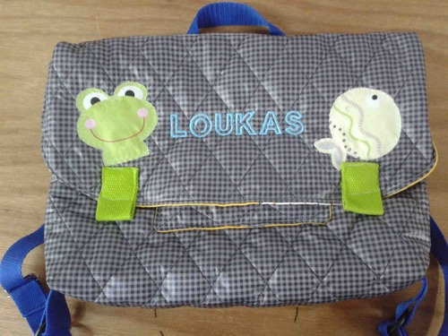 "cartable de ""Loukas"""