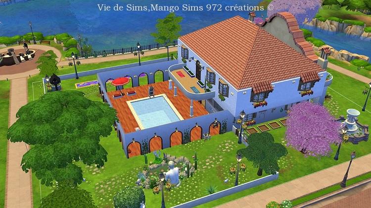 La villa Cactus #sims4