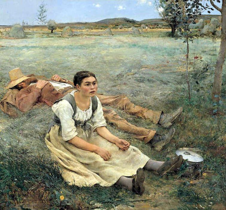 Jules Bastien-Lepage- Les Foins-1877