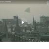 OVNI de forme pyramidale sur Moscou