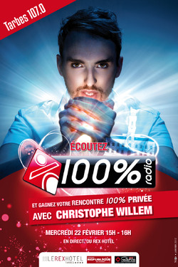 100% Showcase Christophe Willem à Tarbes