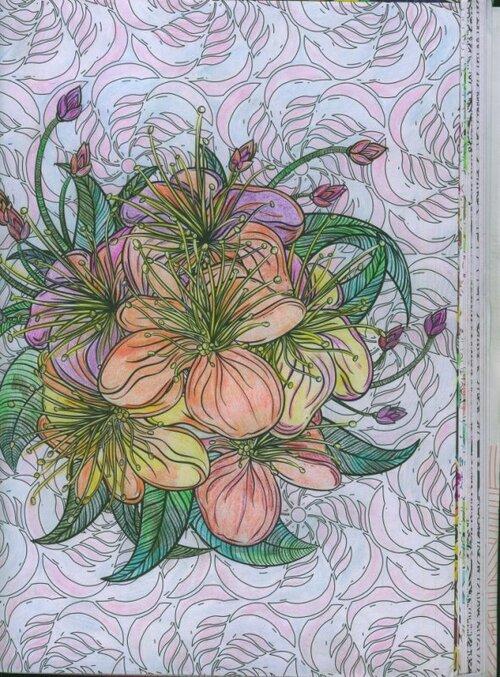 coloriage fleur et jardin1