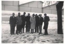 9 février 1956 - La neige à Mondovi.