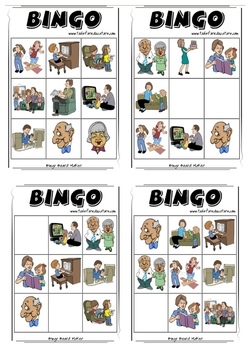 Jeu de Bingo : la famille
