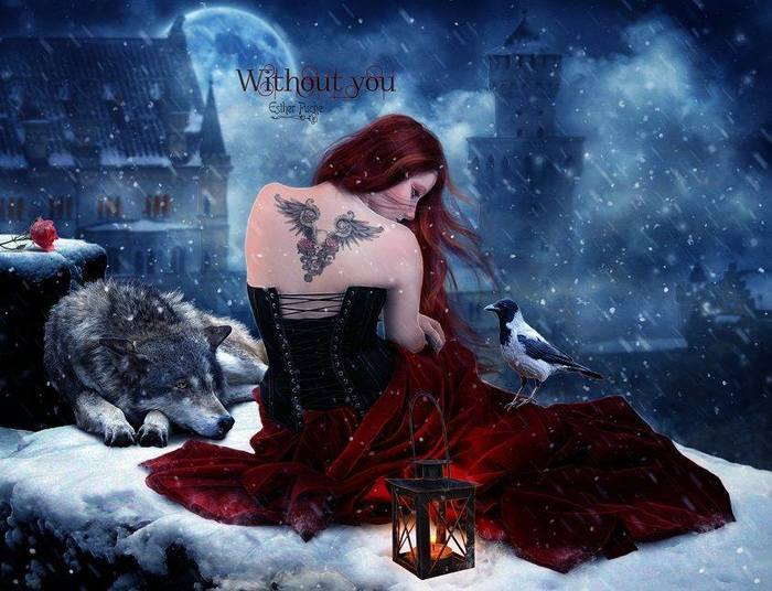 Red gothic