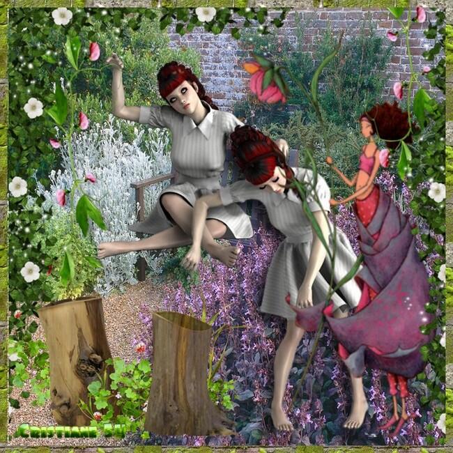 participation 2 pour fleurettes de printemps
