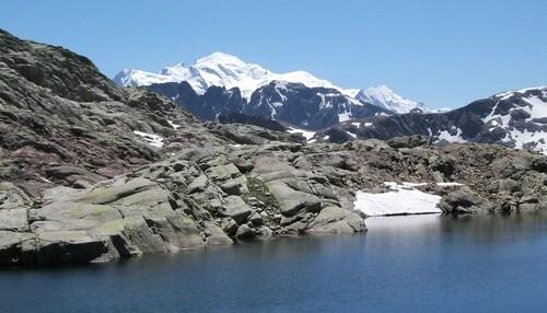 Mont-Blanc, du Lac Vert