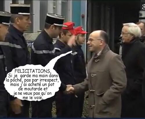 Cazeneuve à Dijon
