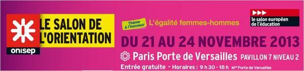 Salon de l'orientation à Paris (21/11/13)