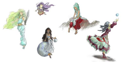 Quelques personnages