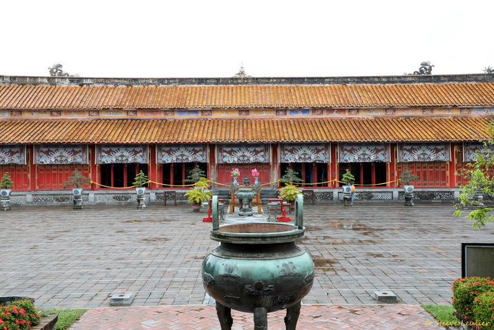 Cité impériale, le temple Thê To ou temple des Générations