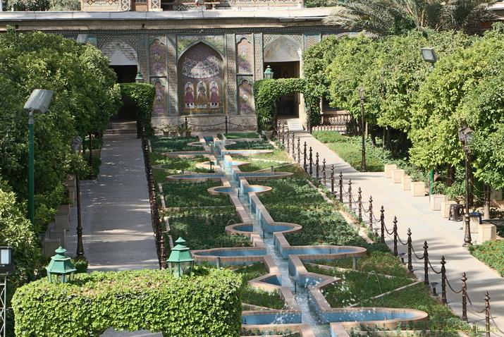 Jardin Naranjestan Ghavam, Shiraz