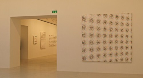 Damien Hirst spot painting Gagosian Paris 5