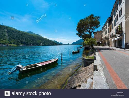 ITALIE.  Suiza Italiana, Lugano, Asocna y Morcote (Voyages)