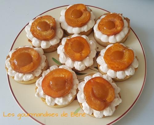 Tartelettes aux abricots