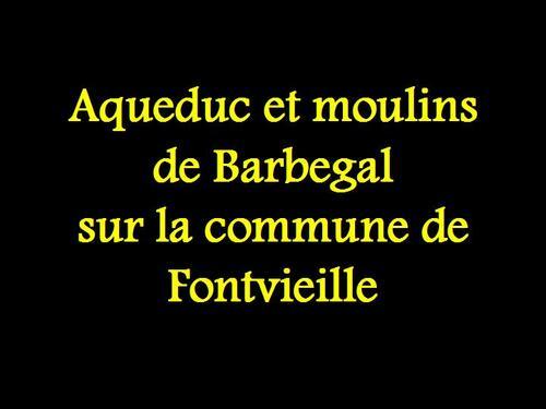 PPS MES CREATIONS  Aqueduc et moulins de Barbegal