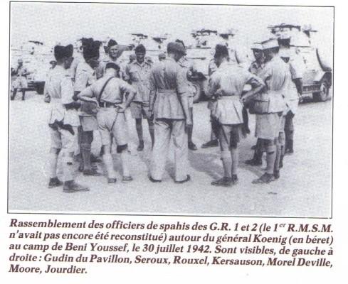 * Histoire des Spahis de la France Libre (1/4 : de l'escadron Jourdier au GRCA (Juillet 1940-Décembre 1941)