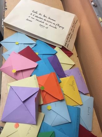 Correspondance en CE1, troisième envoi