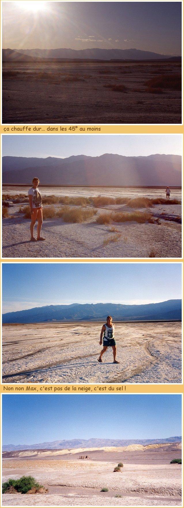 Vallée de la Mort (suite)