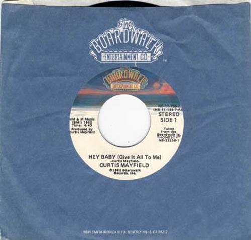 1982 : Single SP Boardwalk Records NB-11-155-7 [ US ]