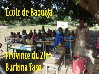 Des photos de l'école Sapouy A