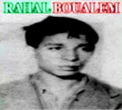 RAHAL Boualem Guillotiné