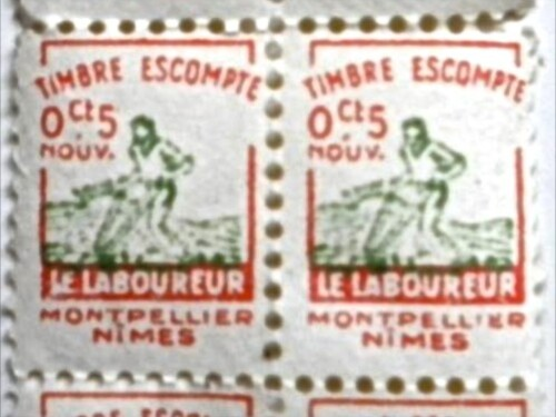 timbre escompte Laboureur 1