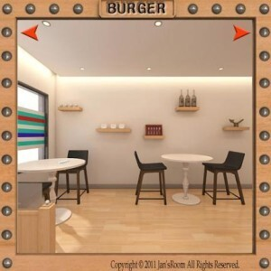Jan's room - Burger shop escape