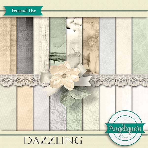 Dazzling de Angelique's scrap