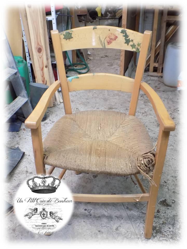 Bientt Je Vous Explique Comment Restaurer Une Chaise Bergre