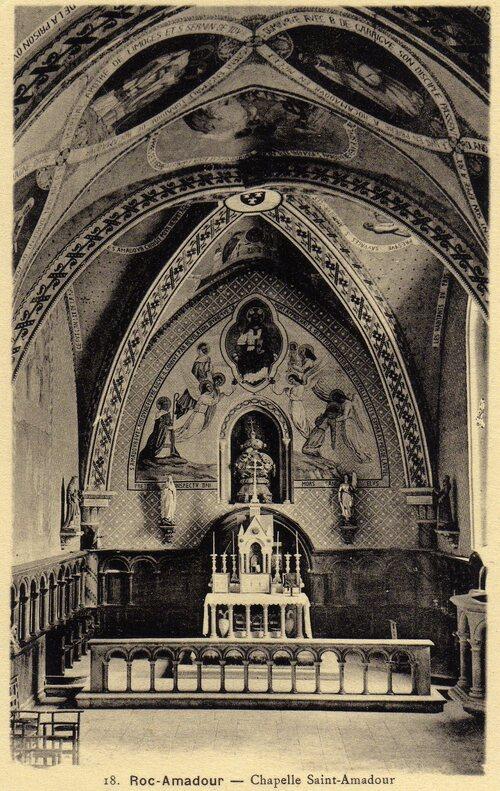 Crypte Saint Amadour ( intérieur)