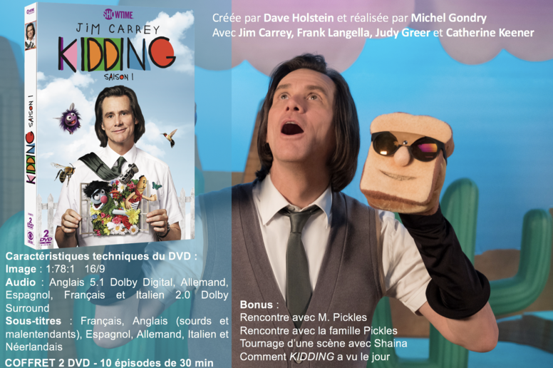 KIDDING - Saison 1 en DVD le 2 octobre 2019