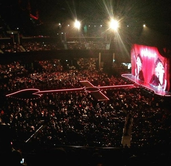 Rebel Heart Tour  2015 12 20 Glasgow (3)