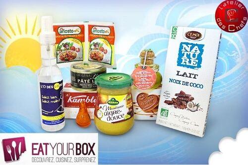 Eat Your Box - Avril en partenariat avec l'Atelier des Chefs