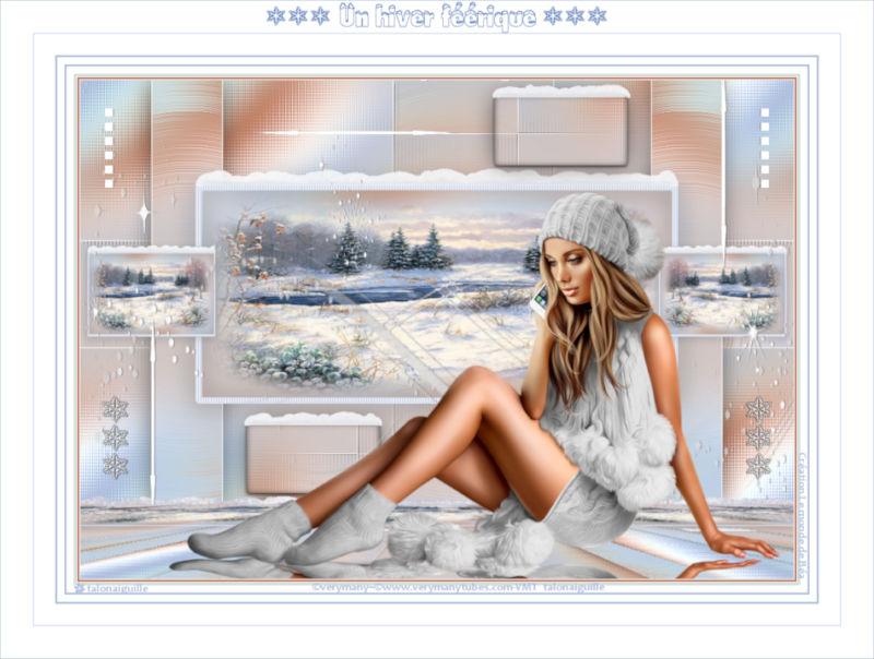*** Un hiver féérique ***