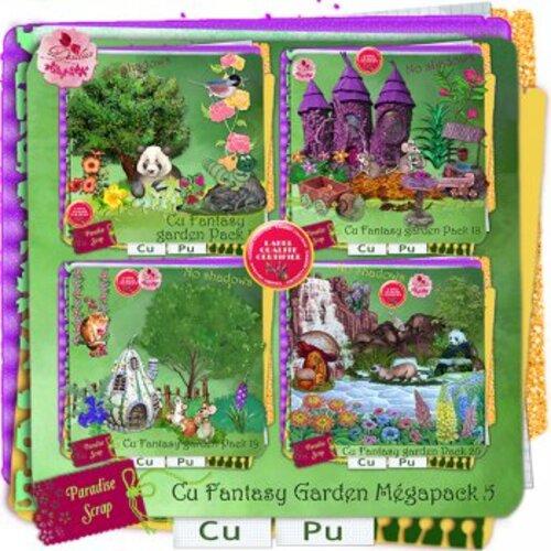 CU Fantasy garden de Desclics