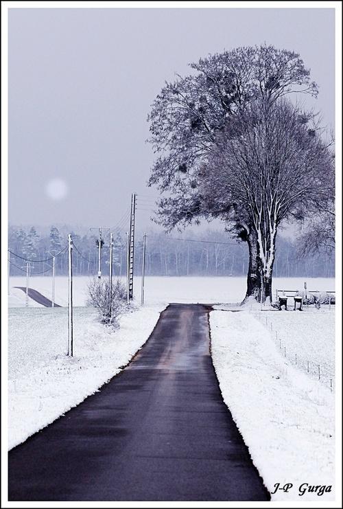 Photos de paysages châtillonnais en hiver, par Jean-Pierre Gurga