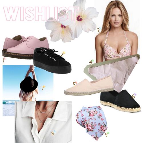Wishlist || été 2016