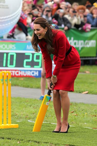Kate en rouge