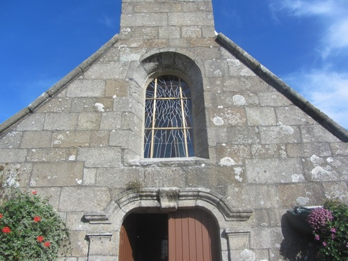Le nouveau vitrail de la chapelle