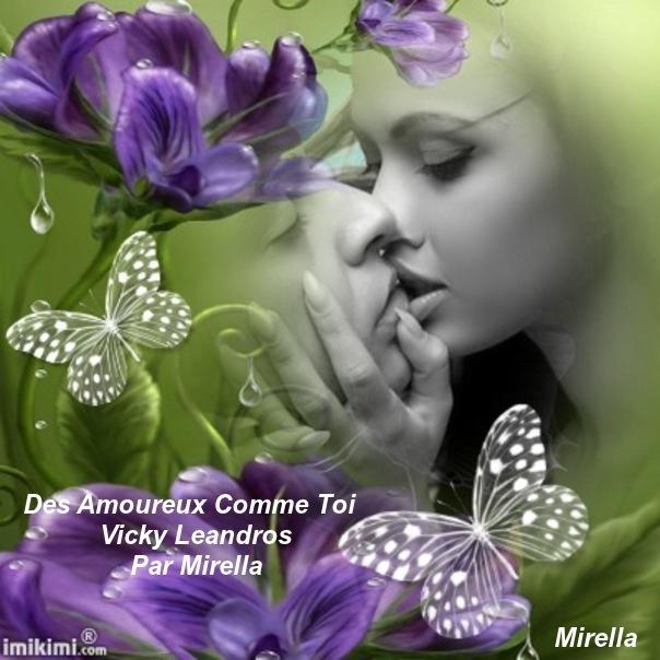 Des Amoureux Comme Toi   Vicky Leandros   Par Mirella