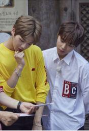Kang Daniel etPark Ji-hoon des Wanna One