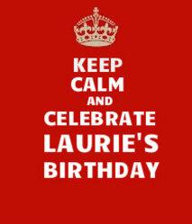 Elles étaient 30, et alors ??? Elles furent rejointes par les foules en liesse pour fêter l'anniversaire de Laurie