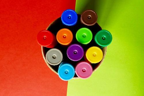 Contraste de couleurs :