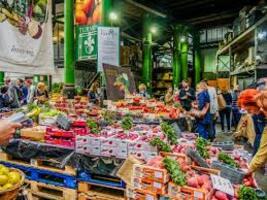 * Visite de Borough Market
