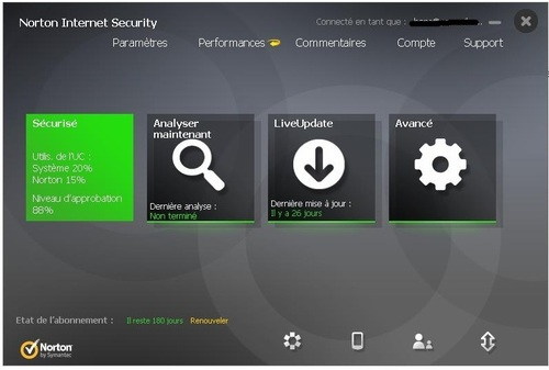 Norton Internet Security 2014 - Licence 6 mois gratuits